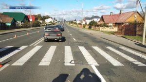 За прошедшие выходные на территории Лиды и Лидского района произошло восемь дорожно-транспортных происшествий