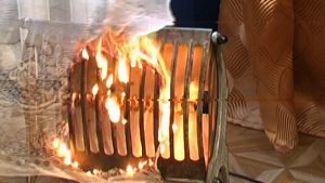 С наступлением холодов участились случаи использования электрообогревателей для обогрева дома