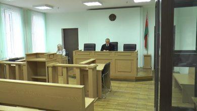 В суде Лидского района ежедневно рассматриваются дела за участие граждан в несанкционированных акциях