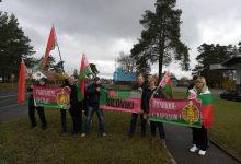 Республиканский автопробег «За единую Беларусь!» сегодня отправился по маршруту Минск-Гродно.