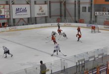 Хоккейный клуб «Лида» сегодня провел товарищеский матч с командой «Динамо-Молодечно»