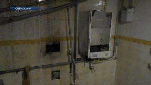 Разрыв отопительного котла произошел в жилом доме по улице Колхозной в Лиде
