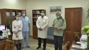 Белорусский фонд мира чествует медиков, которые наиболее проявили себя в борьбе с COVID-19
