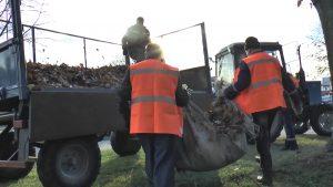 Коммунальщики наводят порядок в Лиде и Березовке и благоустраивают дворы