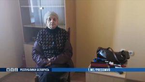 В Лиде задержана пенсионерка, оставившая на фасаде зданий циничные надписи