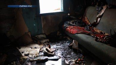 В Лидском районе сегодня в огне погиб мужчина