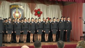 В 10-ой лидской школе 37 десятиклассников дали клятву кадета
