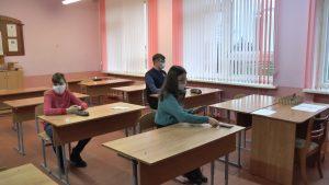 На Лидчине более семисот школьников приняли участие в районных предметных олимпиадах