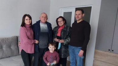 Семья Радынских из Лиды 31 декабря получит ключи от своей трехкомнатной квартиры.