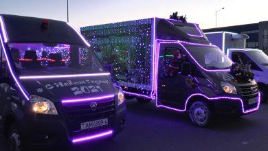 Парад-конкурс «LED- автомобилей»