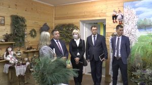 Лиду посетил министр природных ресурсов и охраны окружающей среды Андрей Худык