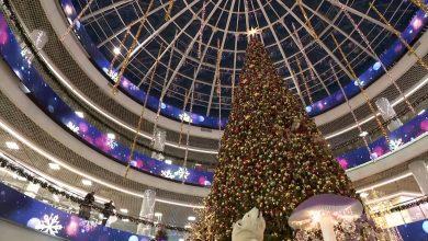 В «Дана Молл» в Минске - новогодняя атмосфера