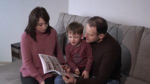 Семья Радынских из Лиды 31 декабря получит ключи от своей трехкомнатной квартиры