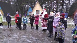 В Лидском районе открылась резиденция Деда Мороза