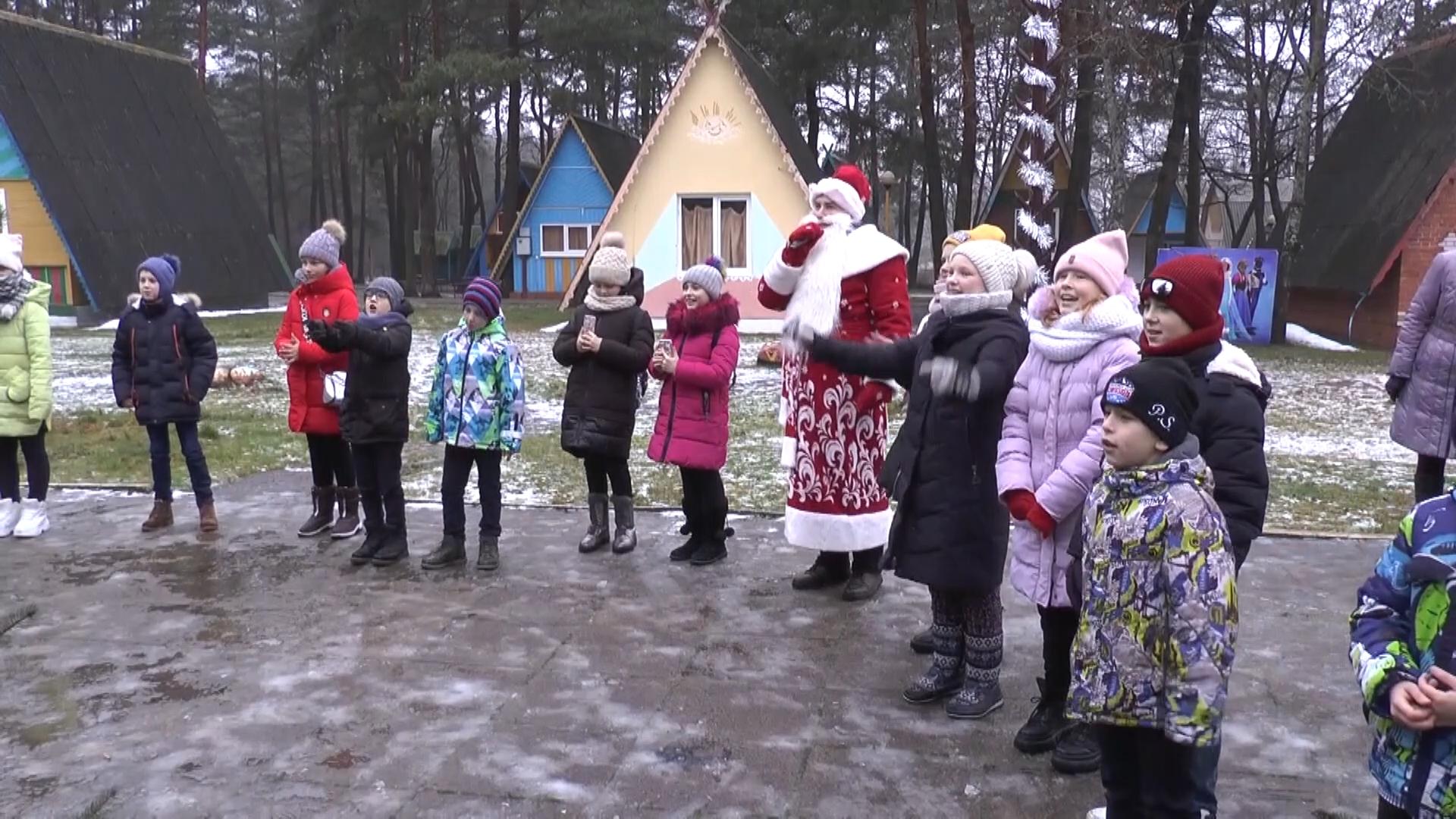 В Лидском районе открылась резиденция Деда Мороза.
