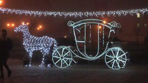 На главную праздничную площадку Лиды приглашает повеселиться «Арт-парад у новогодней елки