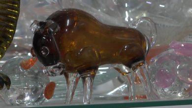 Березовский стеклозавод «Неман» к Рождеству и Новому году подготовил сувенирную продукцию