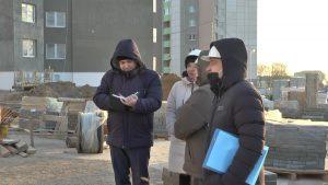 Мобильная группа по охране труда провела рейд по строительным объектам в Лиде