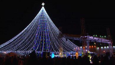Главная елка Лиды претендует на звание самой красивой на Гродненщине