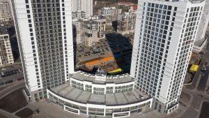 Жилой комплекс Minsk World строится с опережением установленных сроков