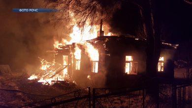 Жилой дом горел в Лидском районе