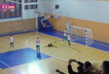 Мини-футбольный клуб «Лида» сыграл в ничью с «Дорожником»