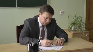 Сергей Ложечник провел выездной прием на базе Лидского лицея мелиоративного строительства