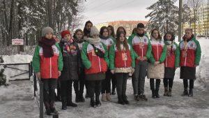 Лидчину посетили участники 56-го интернационального «Звездного похода»