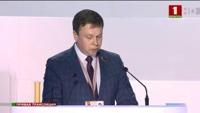 Выступление председателя Лидского райисполкома Сергея Ложечника на VI Всебелорусском народном собрании.