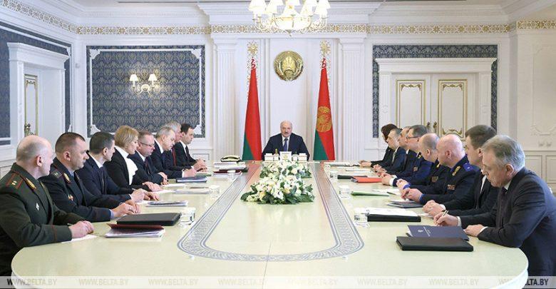 Законодательные новации в сфере нацбезопасности и охраны общественного порядка обсудили у Лукашенко