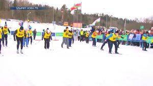 Команда Лидского райисполкома приняла участие в соревнованиях «Принеманская лыжня-2021»