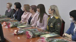 В Лидском райисполкоме прощла встреча-чествование женщин Лидского района
