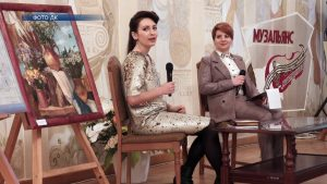 Лидчанка Ирина Вашкевич встретилась в поклонниками своего творчества