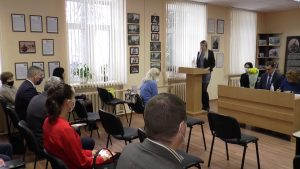 Итоги работы Лидской районной организации Красного Креста были подведены на заседании президиума