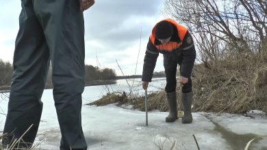 Лидские спасатели мониторят ситуацию на реке Неман