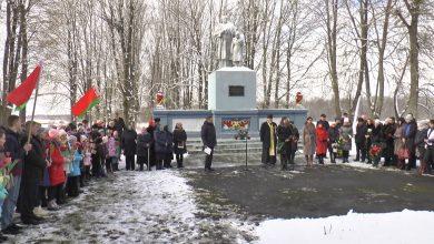 В деревне Лесники прошел митинг-реквием, посвященный Дню памяти Хатынской трагедии