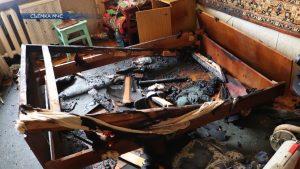 Огонь унес жизнь человека в Лиде