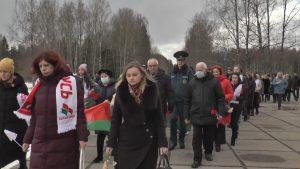В День памяти Хатынской трагедии делегация Лидского района отдала дань памяти жертвам фашистов