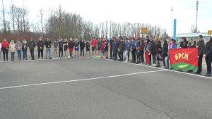 Лидский райком БРСМ организовал интерактивную площадку для молодежи