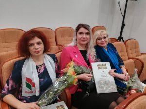 В Лидском райисполкоме проходит встреча-чествование женщин Лидского района.