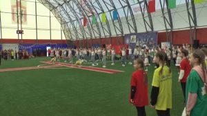 Сегодня в Лиде открылась крытая мини-футбольная площадка