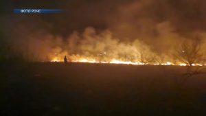 Спасатели продолжают регистрировать случаи выжигания сухой растительности