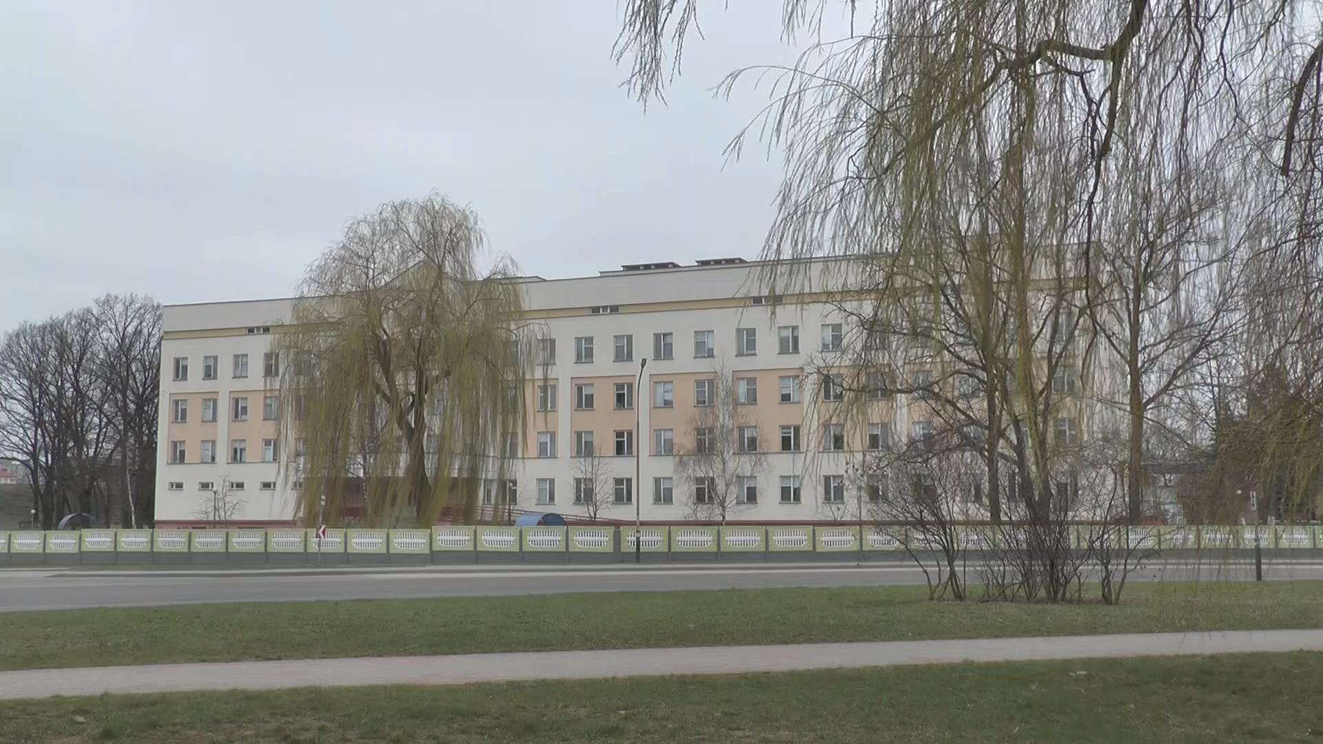 В Лидской центральной районной больнице для больных COVD-19 организованы 257 койко-мест.