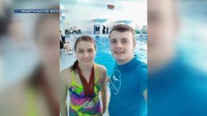 Мария Стрибуть из Лиды выиграла четыре «серебра» на первенстве страны по плаванию