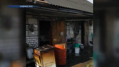 В Лидском районе на пожаре погибли двое мужчин