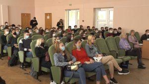 Впервые в Лидском районе проведена стресс-лекция по безопасности дорожного движения