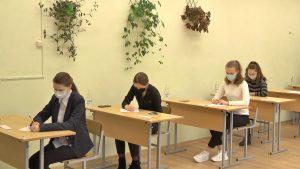 В Лиде проходит республиканская олимпиада по белорусскому языку и литературе