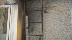 В Лиде горел балкон в одном из многоквартирных жилых домов по улице Гастелло