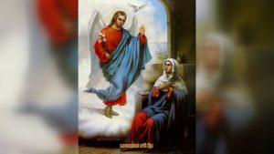 Православные верующие отмечают Благовещение Пресвятой Богородицы
