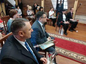 На торжественный приём председателя Лидского райисполкома приглашён профсоюзный актив Лидчины.